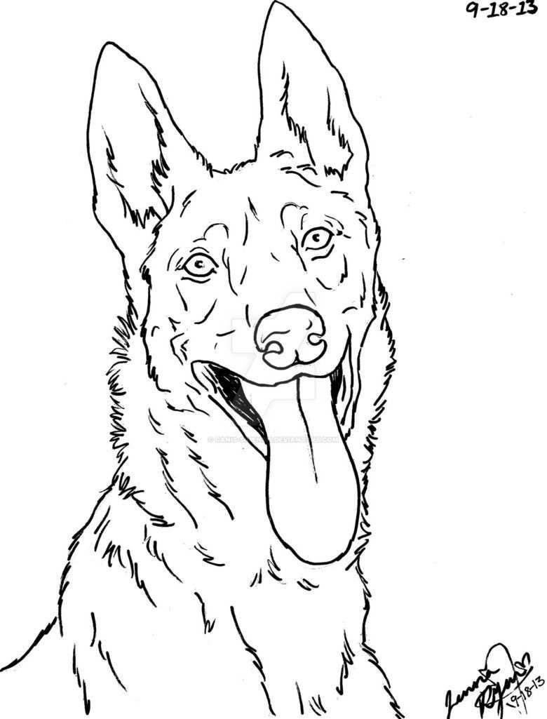 Pin Van Tessapost Op Hout Branden Hond Tekeningen Kleurplaten