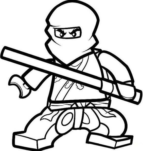 Ninjago Kleurplaten Kleurplaten Ninjago Kleurplaat Ninjago