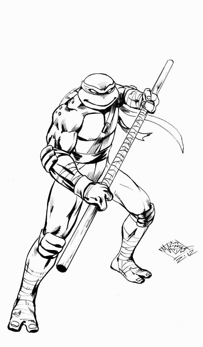 21 Teenage Mutant Ninja Turtles Coloring Book In 2020 With Images