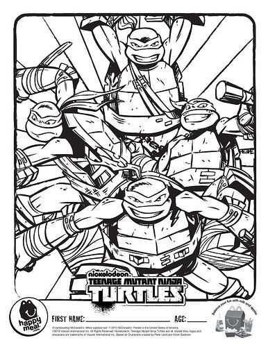 Mcdonald S Happy Meal Nickelodeon Teenage Mutant Ninja Turtles