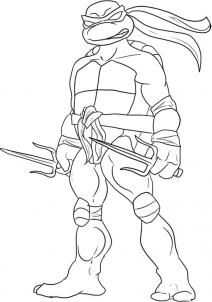 How To Draw Raphael From Teenage Mutant Ninja Turtles By Dawn