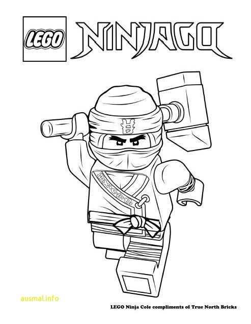 14 Beste Malvorlage Ninjago Cole Kostenlos Zum Ausdrucken With
