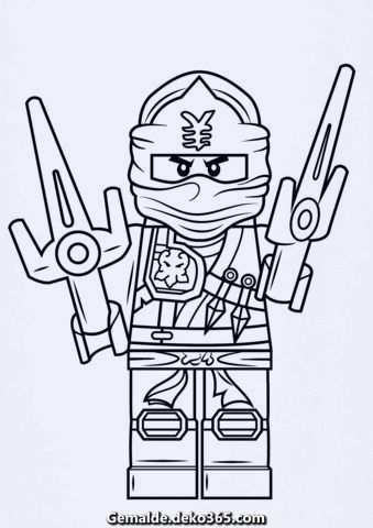 Ausmalbilder Lego Ninjago Jay Zx Aus Jener Kategorie Lego Ninjago