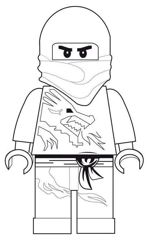 kleurplaat ninjago lloyd