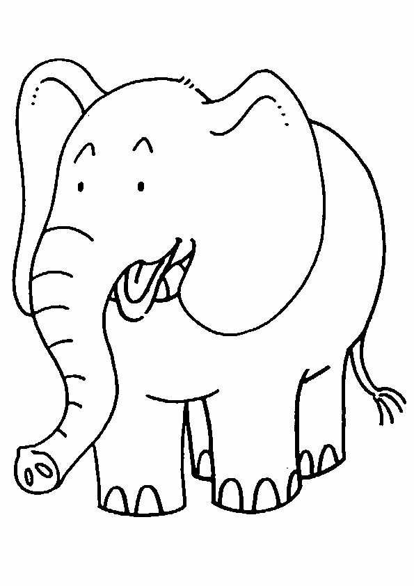 Top 20 Free Printable Elephant Coloring Pages Online Dieren