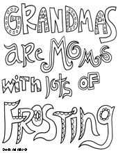 Grandma Quote With Images Mothers Day Coloring Pages Quote