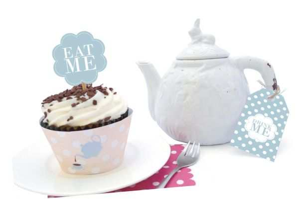 Diy Tea Party Printable Theekransje Feestje En Feestjes