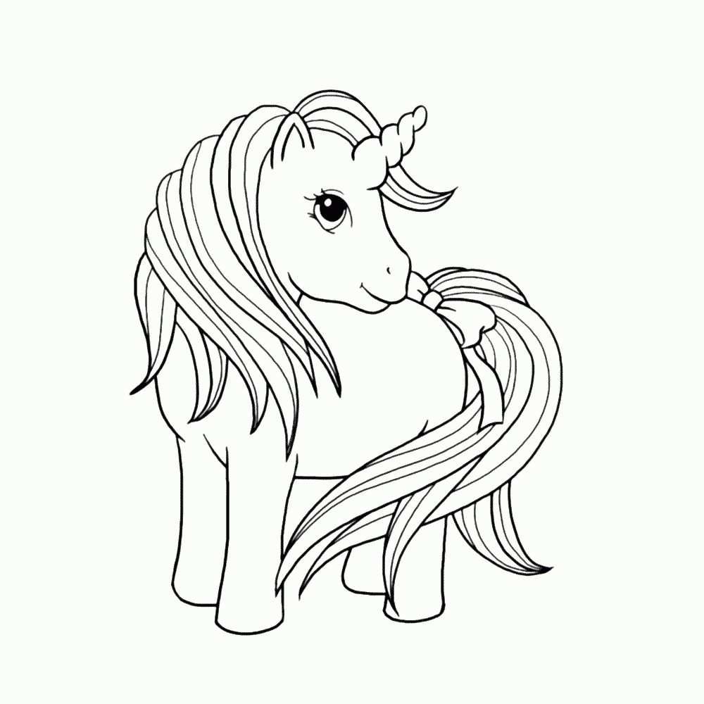 Quatang Gallery- Kleurplaat Paard
