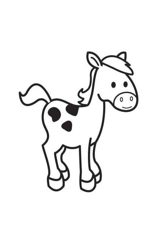 Kleurplaat Paard Kleurplaten Paarden En Dieren Kleurplaten