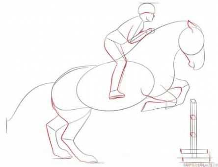 Drawing Step By Step Horse Tutorials 64 Ideas Drawing Horse