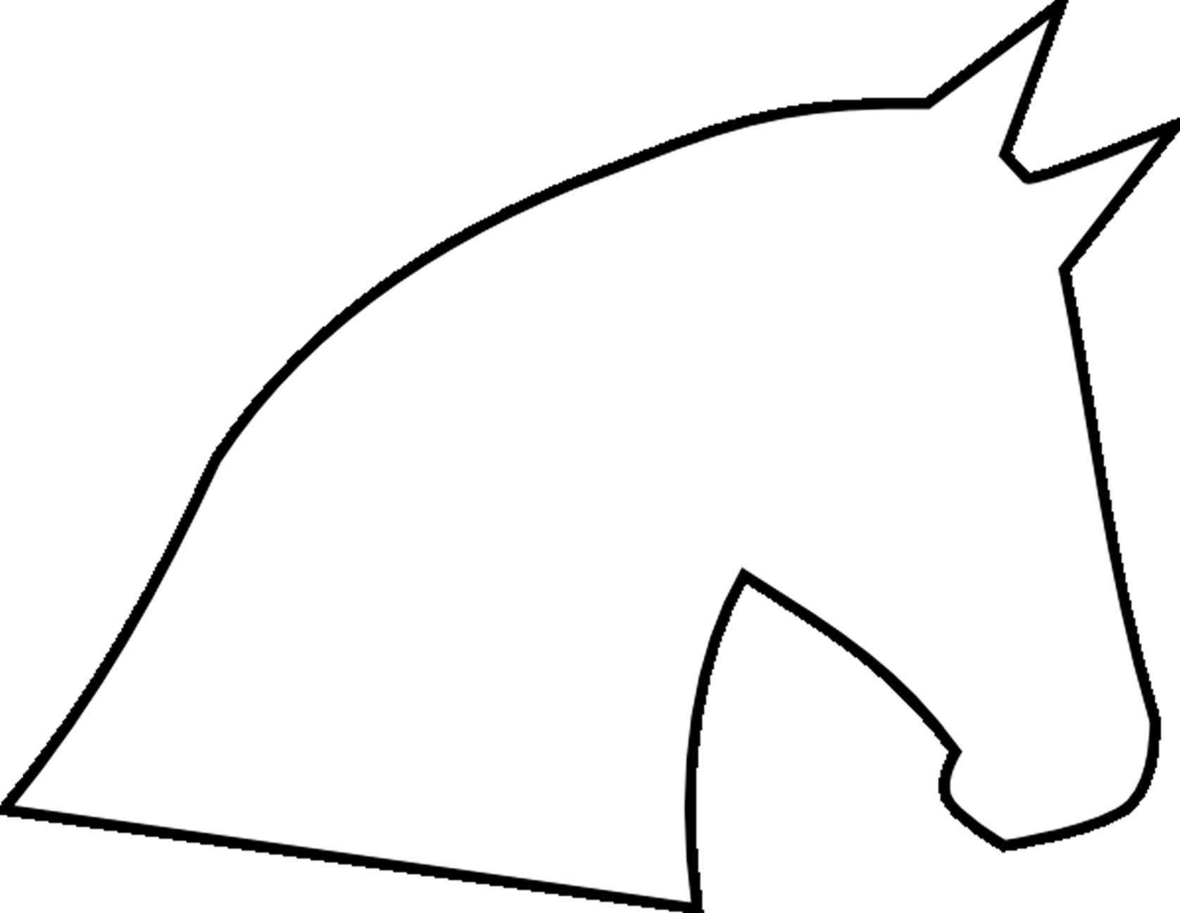 Kleurplaat Paardenhoofd Cool Kleur Kleurplaat Paardenhoofd