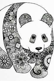 Afbeeldingsresultaat Voor Zentangle Panda Zentangle Patronen