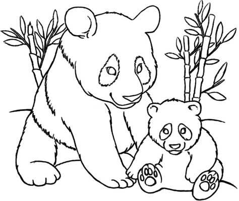 20 Amazing Panda Coloring Pages Http Letmehit Com Amazing Panda