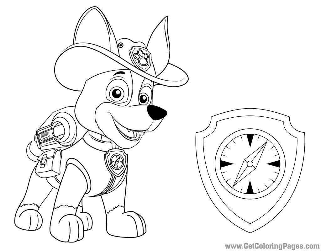 Tracker Paw Patrol With Images Paw Patrol Tracker Dog Themed