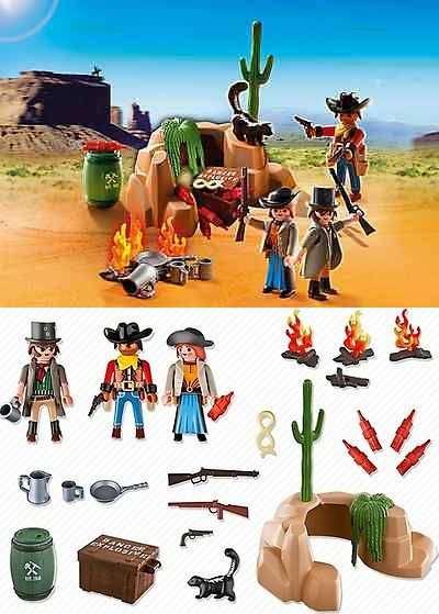 ausmalbilder playmobil cowboys  pin de elvis en playmobil