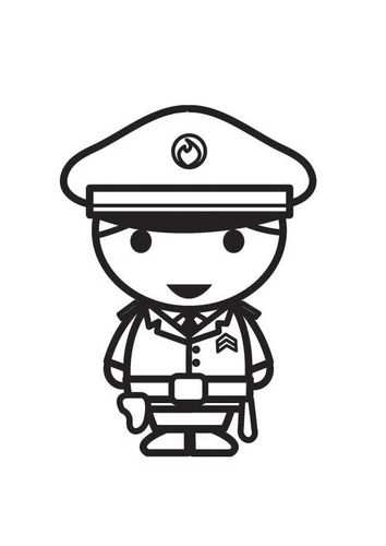 Letras Clip Art Y Tareas Met Afbeeldingen Politie Agenten