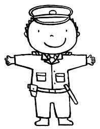 Afbeeldingsresultaat Voor Kleurplaat Politieagent Thema Politie