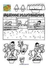 Kijkdoos Paardensport Paard Knutselen Knutselen Sport En Knutselen
