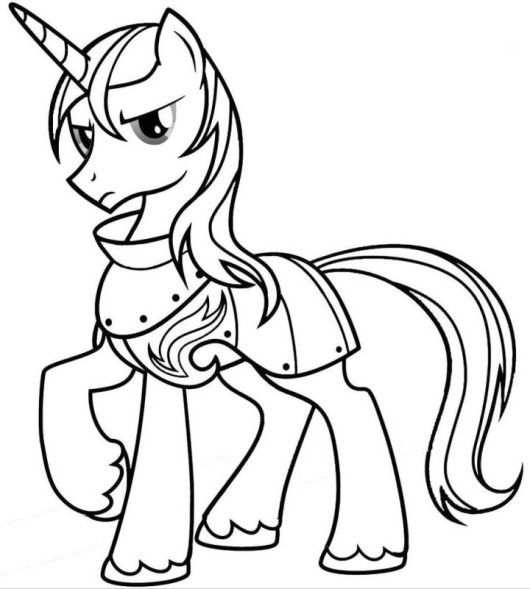 Coloring Sheet My Little Pony Kleurplaten Cartoons