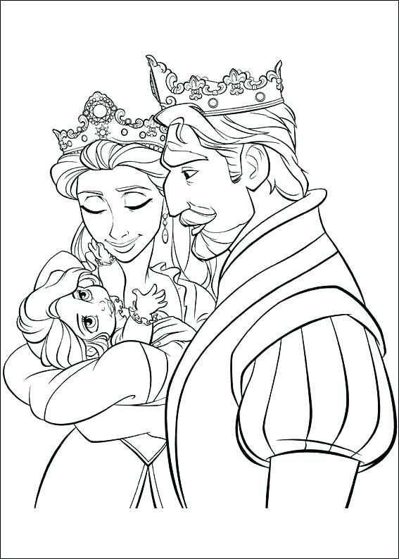 Rapunzel Kleurplaat Prinses Rapunzel Kleurplaat Kleurplaten
