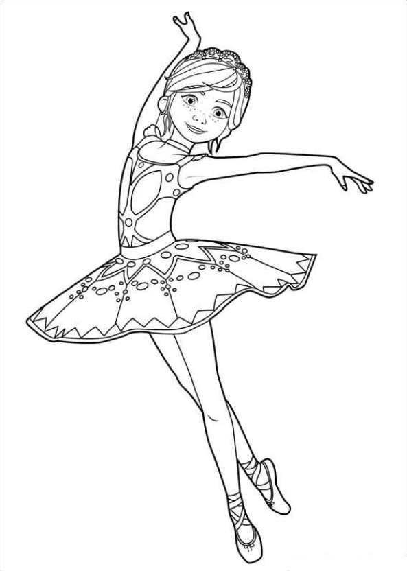 Felicie Dans Kleurplaat Dans Ballet Kleurplaat Ballerina