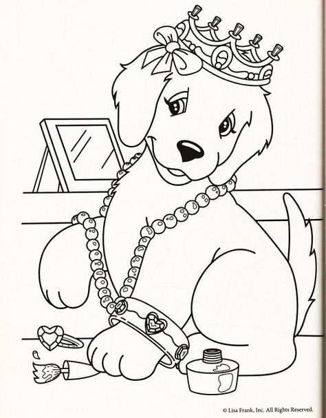Kleurplaten Honden On Pinterest Dog Cartoons Coloring Pages
