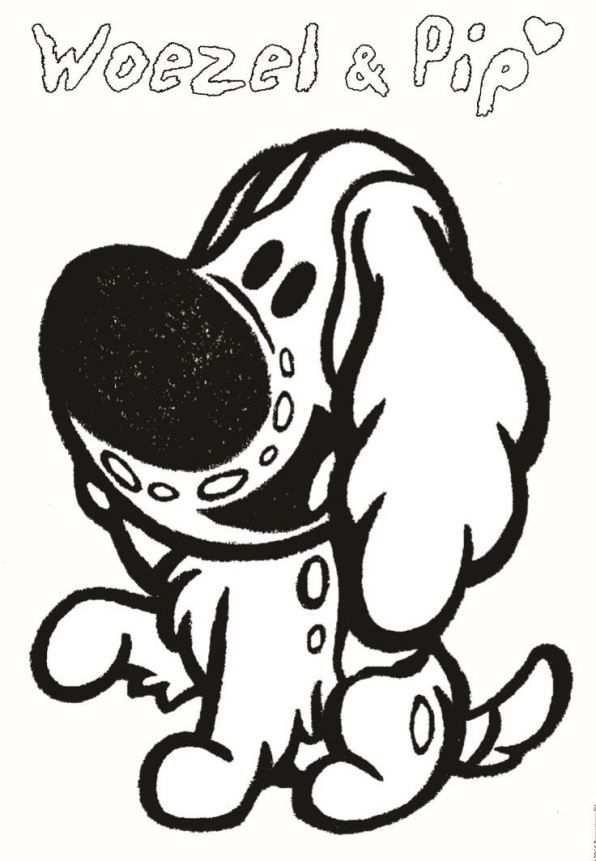kleurplaat puppy vriendjes disney