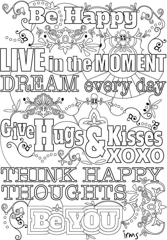 5 Tips Om Gratis Te Ontspannen Quote Coloring Pages Coloring