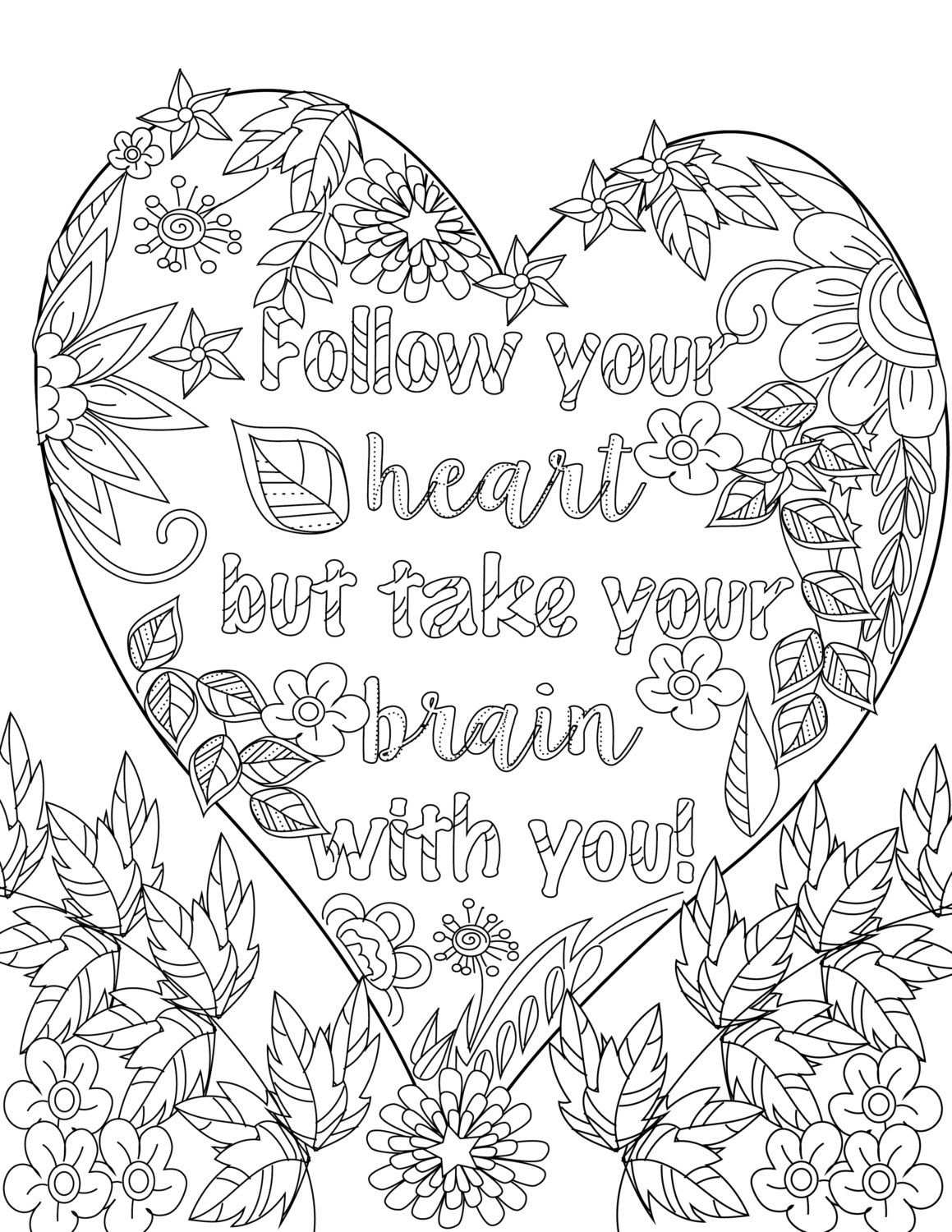 Pin By Tammy Wichelow On Colouring Quote Coloring Pages
