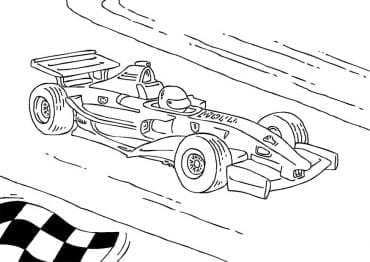 Formule 1 Kleurplaten Kleurplaatje Nl