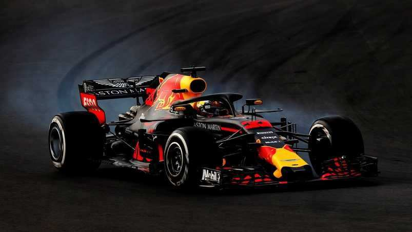 Verstappen Vecht Voor P3 Grand Prix Racen Seizoenen