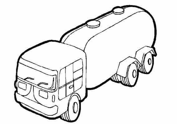 Kleurplaat Tankauto Met Afbeeldingen Kleurplaten Raceauto