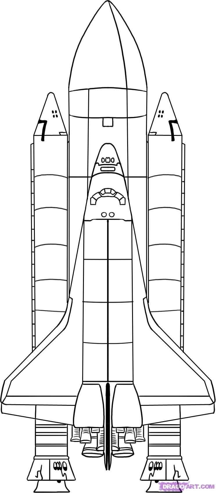 Space Shuttle Art Project Planeten Kleurplaten Sterrenstelsels