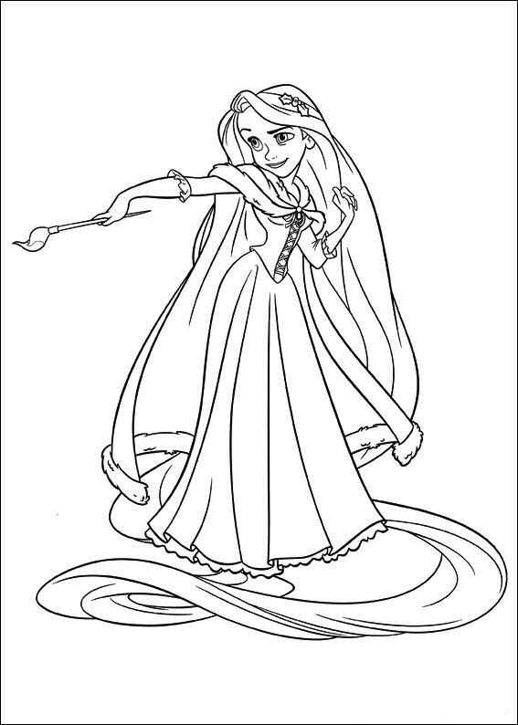 Meet The Disney Character Rapunzel From Tangled Wee Share