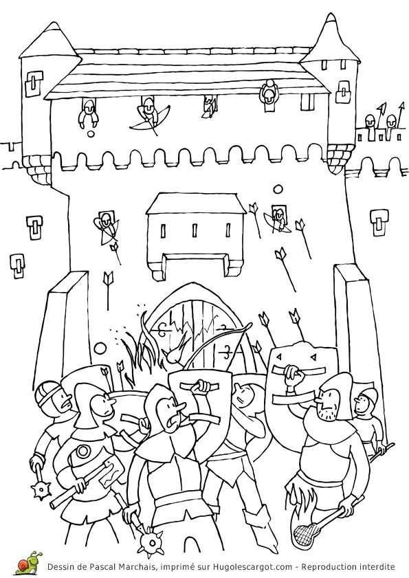 Ridder Kleurplaat Ridders Kleurplaten Prinsessen