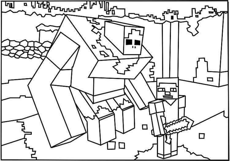 Fresh Coloring Pages Roblox Download Minecraft Coloring Pages