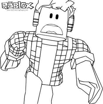 Fresh Coloring Pages Roblox Download With Images Coloring