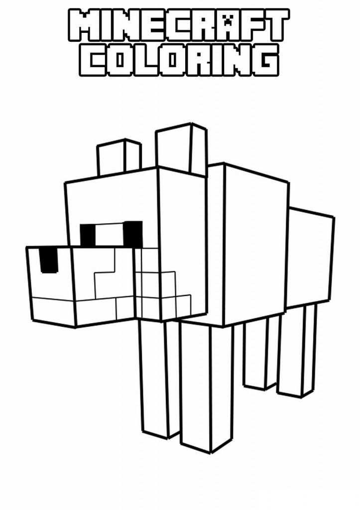 Minecraft 5 Kleurplaten Minecraft Verjaardagsfeestje Minecraft