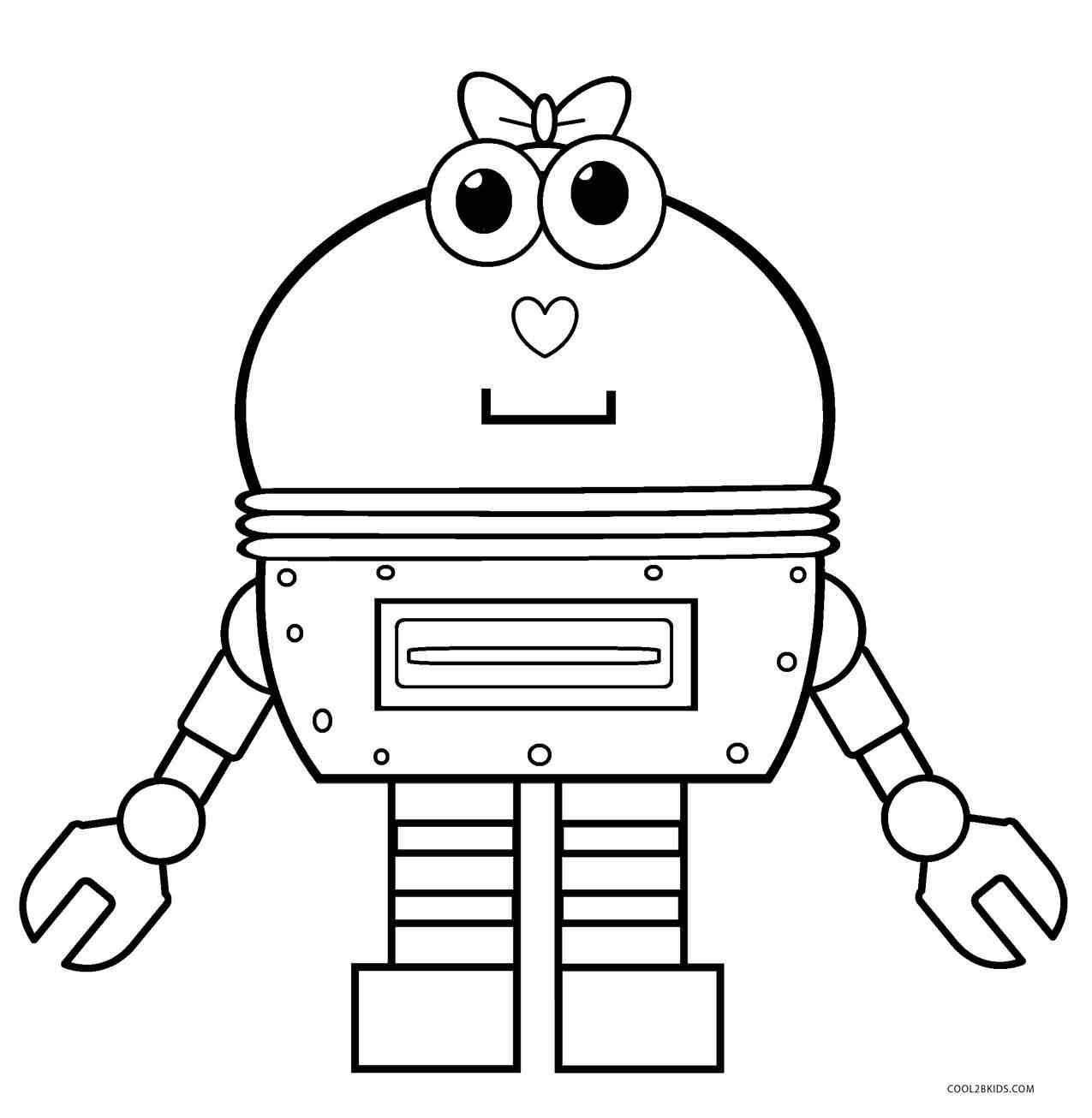 Fine Coloring Page Robot That You Must Know You Re In Good
