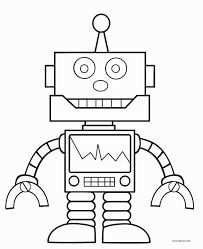 Image Result For Robot Template Printable Kleurplaten Robot Thema