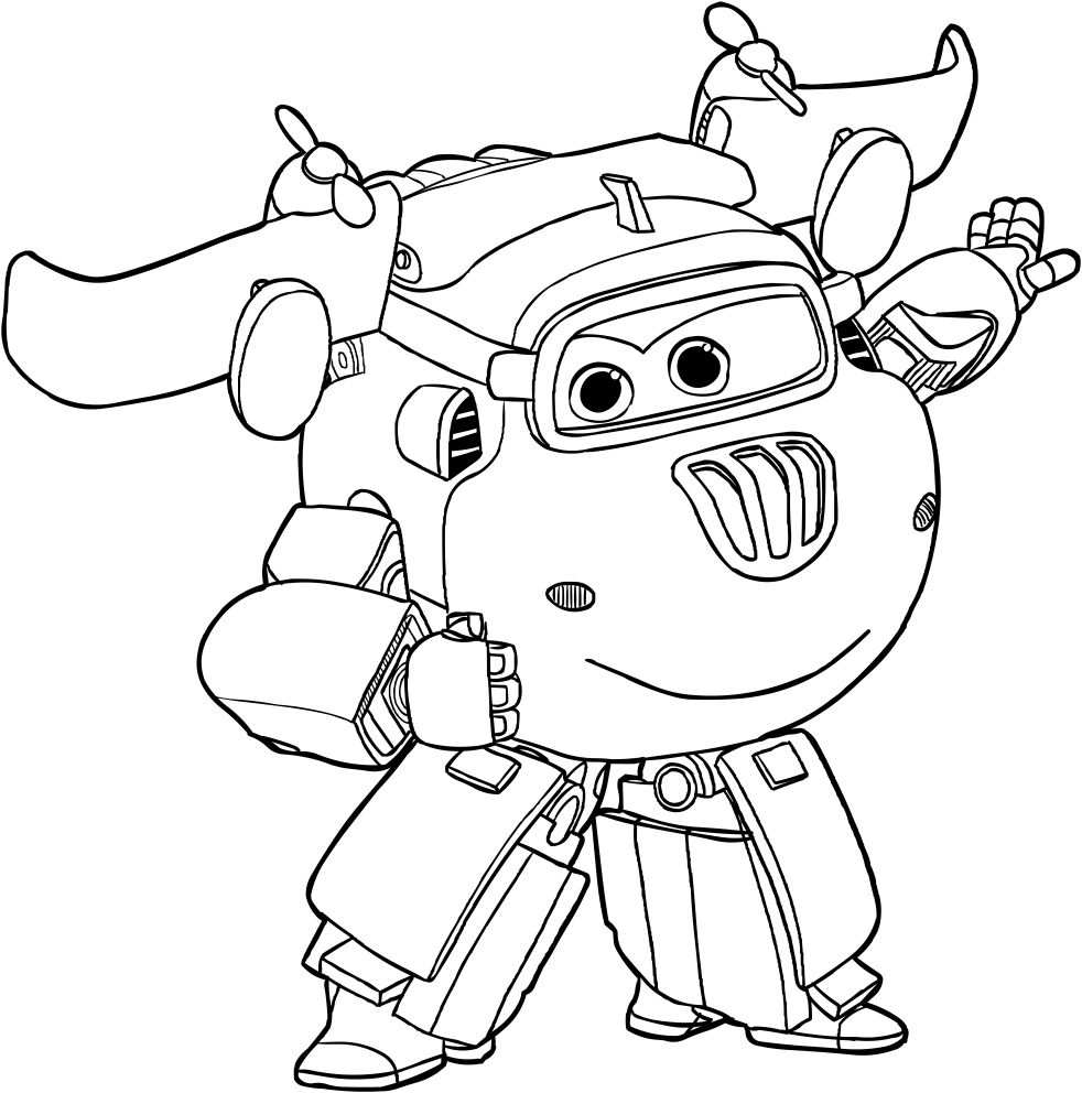 Super Wings Coloring Pages With Images Coloring Pages Cartoon