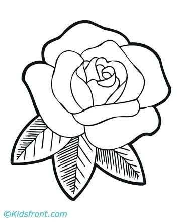 Rozen Kleurplaat Google Zoeken With Images Spring Coloring