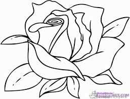 Afbeeldingsresultaat Voor Kleurplaten Bloemen Roos Bloemen