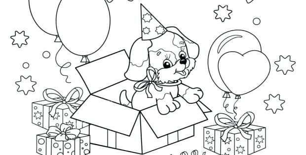 Puppys Kleurplaten Puppy Kleurplaten Schattige Honden Puppies