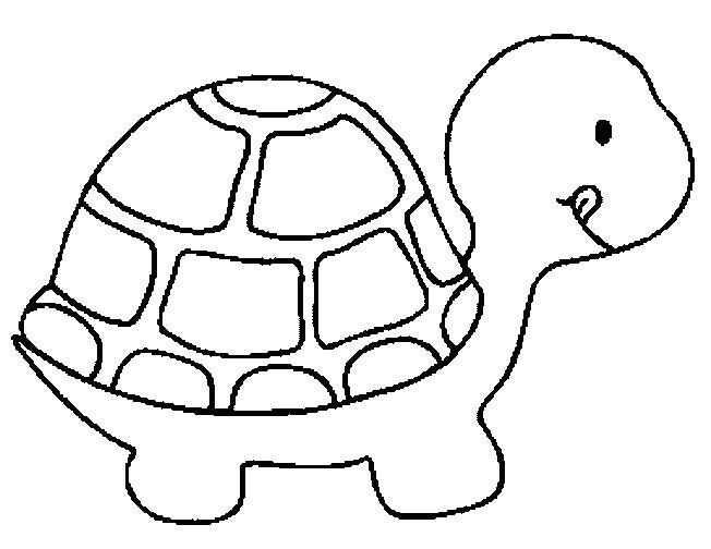 Turtle Coloring Page Con Imagenes Molde De Tortuga Tortuga