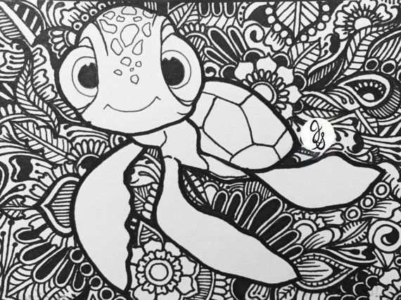 Encontrar Nemo Diseno Met Afbeeldingen Kleurplaten Disney