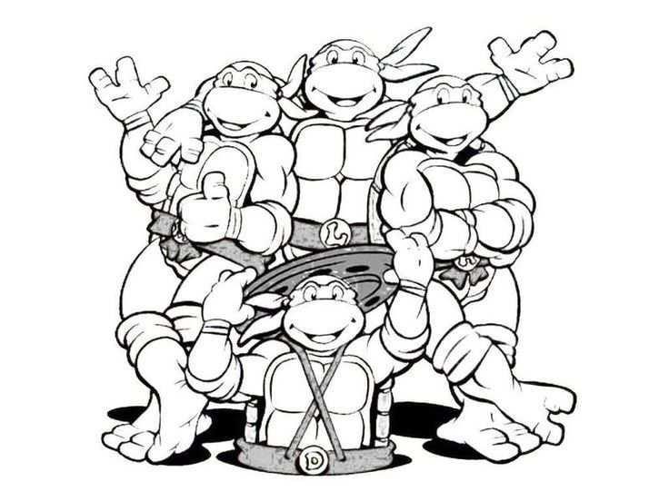Ninja Turtle Coloring Pages Google Search Turtle Coloring
