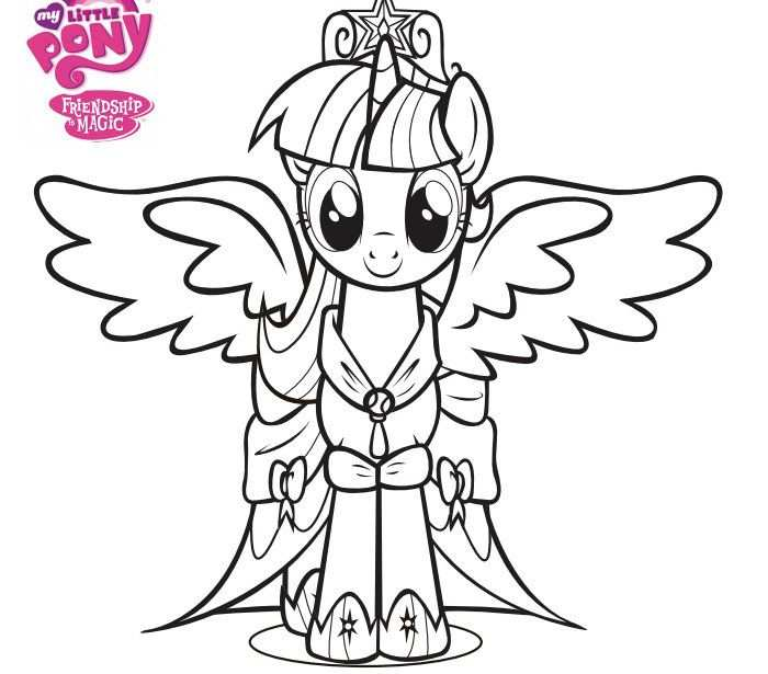 Free Coloring Pages Of My Little Pony Page 5 Dengan Gambar