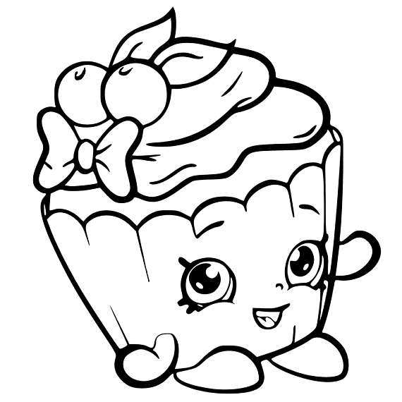 Shopkin Svg With Images Shopkin Coloring Pages Cartoon