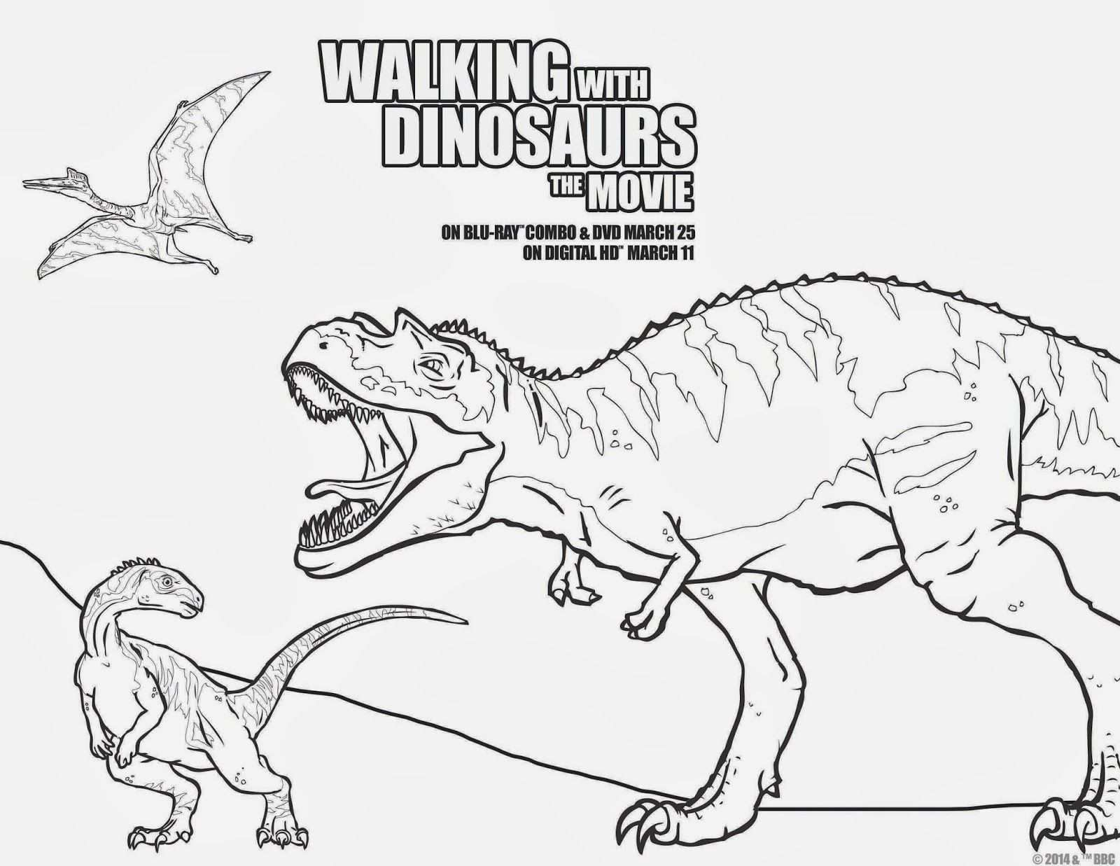 Movie Giveaway Walking With Dinosaurs The Movie Now In Blu Ray